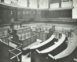 Clerkenwell Sessions House: court number 1