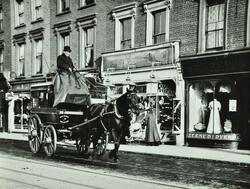 C.W, French and Sons, horse bus running between Nag's Head and Hornsey Rise