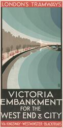 """Victoria Embankment For The Strand, West End And City"""