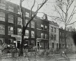 Front elevations of 2-11 Paradise Row